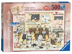 Crazy Cats Vintage - Kitty's Cakes, 500pc - image 1 - Click to Zoom