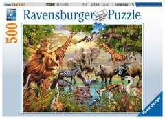 Puzzle 500 p - Plan d'eau magique - Image 1 - Cliquer pour agrandir