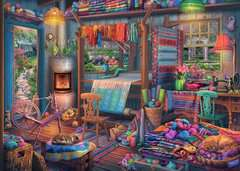 The Weaver's Workshop, 1000pc - image 2 - Click to Zoom