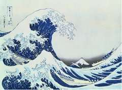 Puzzle 300 p Art collection - La Grande Vague de Kanagawa / Hokusai - Image 2 - Cliquer pour agrandir