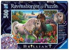 Glitzerndes Pferdepaar - Bild 1 - Klicken zum Vergößern