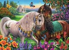 Glitzerndes Pferdepaar - Bild 3 - Klicken zum Vergößern
