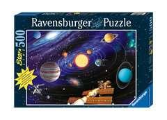 Puzzle 500 p Star Line - Le système solaire - Image 1 - Cliquer pour agrandir
