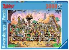 Puzzle 3000 p - L'univers Astérix - Image 1 - Cliquer pour agrandir