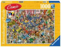 Comic puzzle - De veiling - image 1 - Click to Zoom