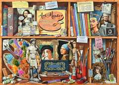 The Artist's Cabinet, 1000pc - image 2 - Click to Zoom