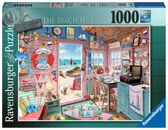 My Haven No 7, The Beach Hut 1000pc - image 1 - Click to Zoom