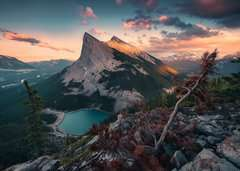 's Avonds in de Rocky Mountains - image 2 - Click to Zoom