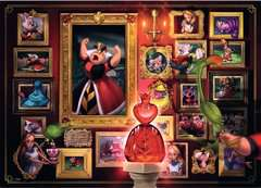 Villainous:Queen of Hearts  Ravensburger Puzzle  1000 pz - Disney - immagine 2 - Clicca per ingrandire