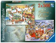 Christmas Collection No.1, Christmas Market & Santa's Christmas Supper 2x500pc - image 1 - Click to Zoom