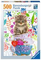 Teacup Kitty, 500pc - image 1 - Click to Zoom