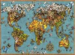 Puzzle 500 p - Mappemonde de papillons - Image 2 - Cliquer pour agrandir