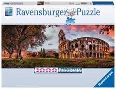 Puzzle Panoramiczne 1000 elementów: Koloseum o zmierzchu - Zdjęcie 1 - Kliknij aby przybliżyć