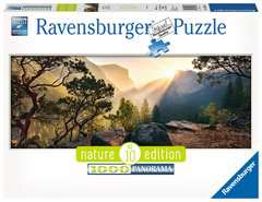 Yosemite Park Panoramic, 1000pc - Billede 1 - Klik for at zoome