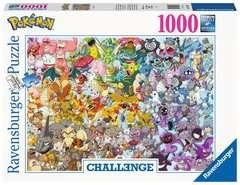 Puzzle 1000 p - Pokémon (Challenge Puzzle) - Image 1 - Cliquer pour agrandir