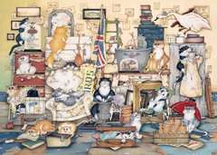 Crazy Cats - Go Salvage Hunting, 1000pc - image 2 - Click to Zoom