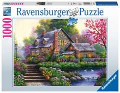 Romantic Cottage, 1000pc - image 1 - Click to Zoom