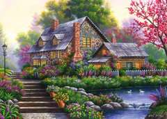 Romantic Cottage, 1000pc - image 2 - Click to Zoom