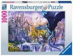 Puzzle 1000 p - Le château des dragons - Image 1 - Cliquer pour agrandir