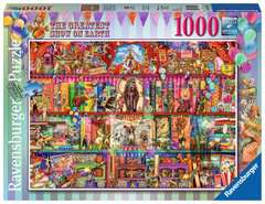 The Greatest Show on Earth, 1000pc - image 1 - Click to Zoom