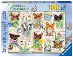 Butterfly Splendours, 1000pc - image 1 - Click to Zoom