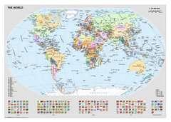 Puzzle 1000 p - Carte du monde politique - Image 2 - Cliquer pour agrandir