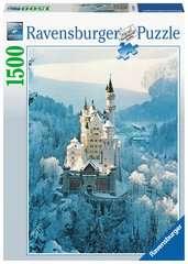 Puzzle 1500 p - Neuschwanstein en hiver - Image 1 - Cliquer pour agrandir