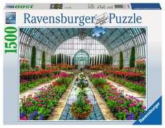 Puzzle 1500 p - Jardin en serre - Image 1 - Cliquer pour agrandir