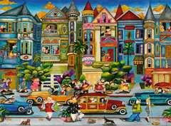 Malované domy 1500 dílků - obrázek 2 - Klikněte pro zvětšení