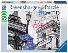 Puzzle 1500 p - My Paris - Image 1 - Cliquer pour agrandir