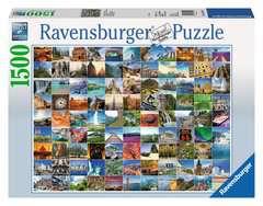 Puzzle 1500 p - Les 99 plus beaux endroits du monde - Image 1 - Cliquer pour agrandir