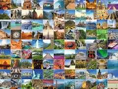 Puzzle 1500 p - Les 99 plus beaux endroits du monde - Image 2 - Cliquer pour agrandir