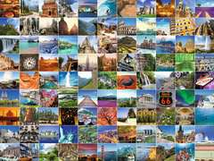 Puzzle 1500 p - Les 99 plus beaux endroits du monde - Image 3 - Cliquer pour agrandir