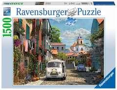 Puzzle 1500 p - Sud de la France idyllique - Image 1 - Cliquer pour agrandir