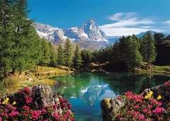 Puzzle 1500 p - Vue sur le Mont Cervin - Image 2 - Cliquer pour agrandir