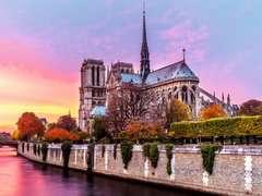 Puzzle 1500 p - Pittoresque Notre-Dame - Image 2 - Cliquer pour agrandir