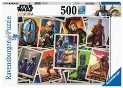 Puzzle 500 p - Baby Yoda / Star Wars Mandalorian - Image 1 - Cliquer pour agrandir