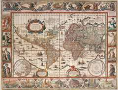 Map of the World 1650, 2000pc - image 2 - Click to Zoom
