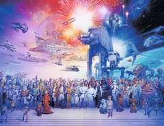 Star Wars episode I-VI Saga, 2000pc - Billede 2 - Klik for at zoome