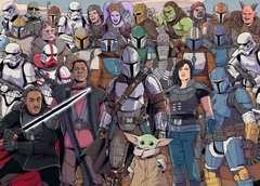Puzzle 1000 p - Baby Yoda / Star Wars Mandalorian (Challenge Puzzle) - Image 2 - Cliquer pour agrandir