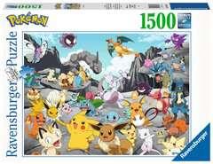 Puzzle 1500 p - Pokémon Classics - Image 1 - Cliquer pour agrandir