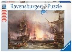 Puzzle 3000 p - Le bombardement d'Alger / Martinus Schouman - Image 1 - Cliquer pour agrandir