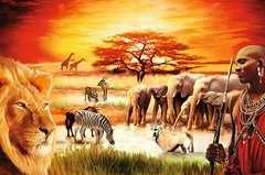Puzzle 3000 p - La fierté du Massaï - Image 2 - Cliquer pour agrandir