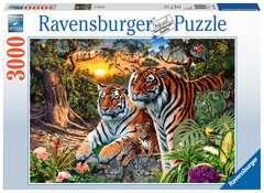 Hidden Tigers, 3000pc - Billede 1 - Klik for at zoome