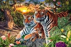 Hidden Tigers, 3000pc - Billede 2 - Klik for at zoome