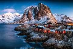 Hamnoy, Lofoten - Bild 2 - Klicken zum Vergößern