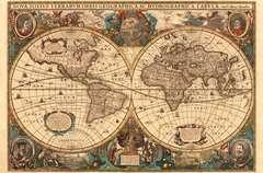 Antieke wereldkaart - image 2 - Click to Zoom