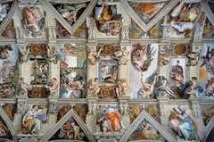 Sixtinská kaple 5000 dílků - obrázek 2 - Klikněte pro zvětšení
