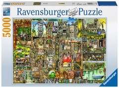 Puzzle 5000 p - Ville bizarre / Colin Thompson - Image 1 - Cliquer pour agrandir