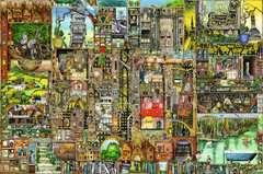Puzzle 5000 p - Ville bizarre / Colin Thompson - Image 2 - Cliquer pour agrandir